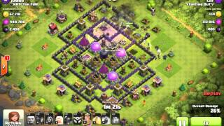Clash of clans - BIGGEST EXILER LOOT EVER (chi )