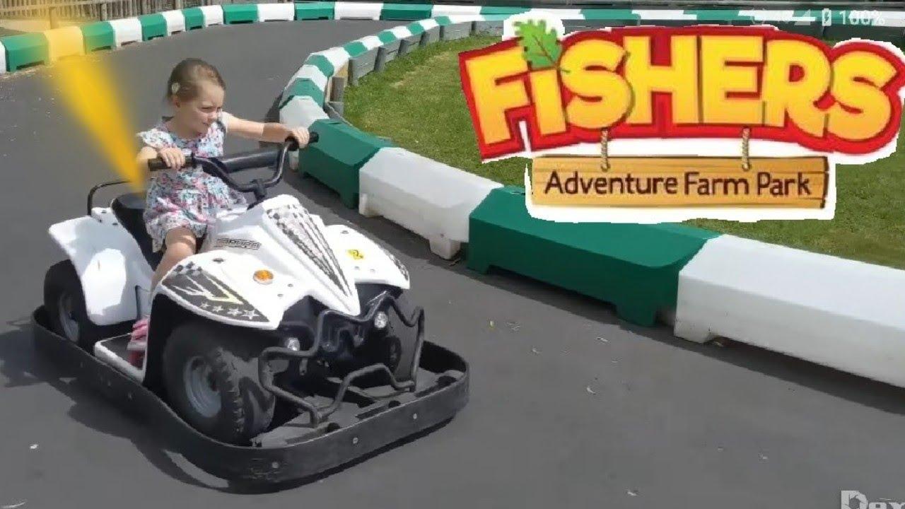 Fishers Farm Adventure Park Fun 2019 Youtube