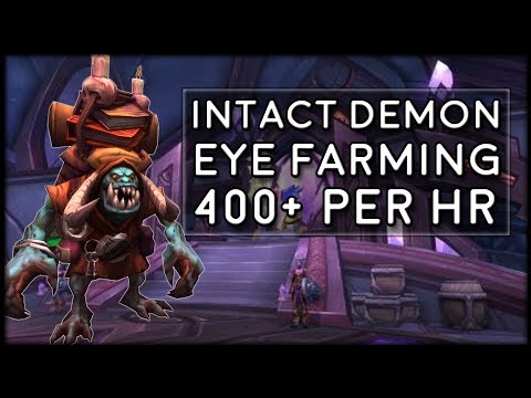 How to Farm Intact Demon Eyes! Orix the All-Seer Guide | World of Warcraft Legion