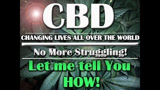 CBD OIL Business Opportunity: USA and Canada Only! FREE Money-Work from Home
