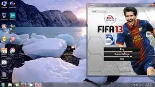 how to play fifa 13 on full screen
