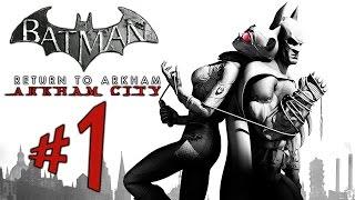 Batman Return to Arkham - Arkham City - Parte 1: Bruce e Mulher-Gato [ PS4 Pro - Playthrough ]