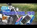 Download lagu รีวิว Honda Phantom 150   2 จังหวะ ของสายจ๊วด - EP.1