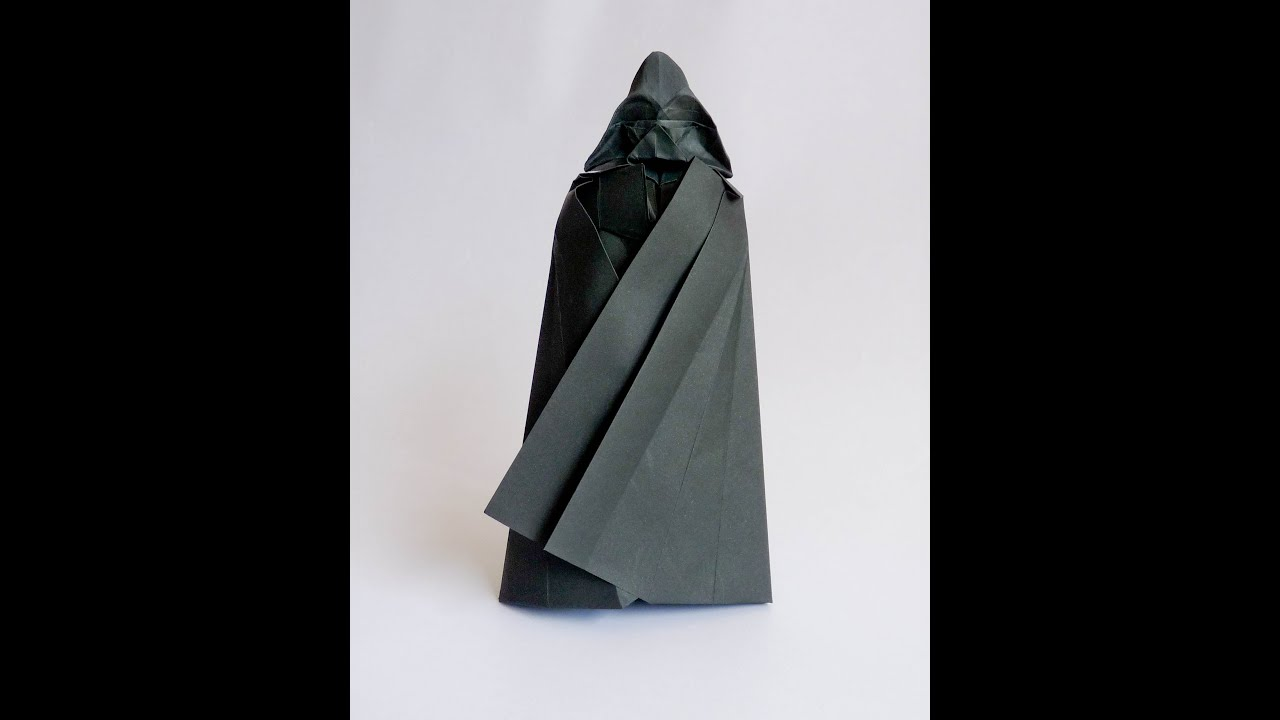 Origami Darth Vader Tutorial Youtube