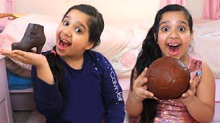 شفا و يوم الحلويات !! Shfa and Candy Day