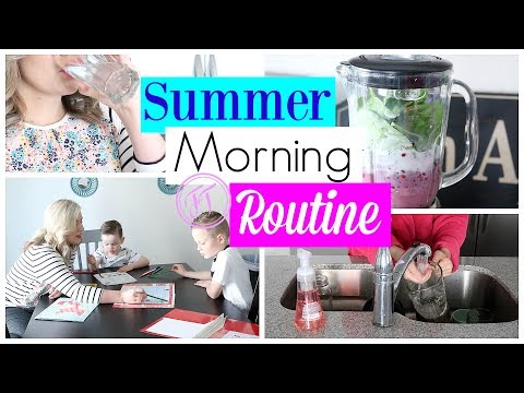 Summer Morning Routine| Stay at Home Mom