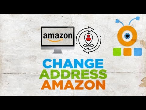 How To Change Address On Amazon