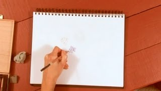 How to Make Texture With Color Pencils : How to Draw with Colored Pencils