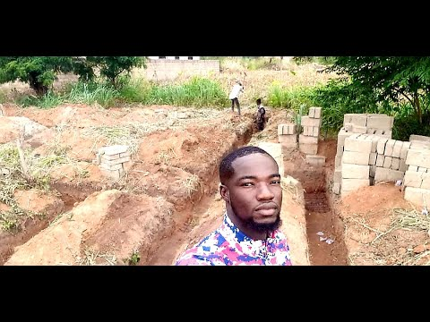 Building Home In Ghana Vlog - Phase 3 (FOUNDATION PROGRESS!)