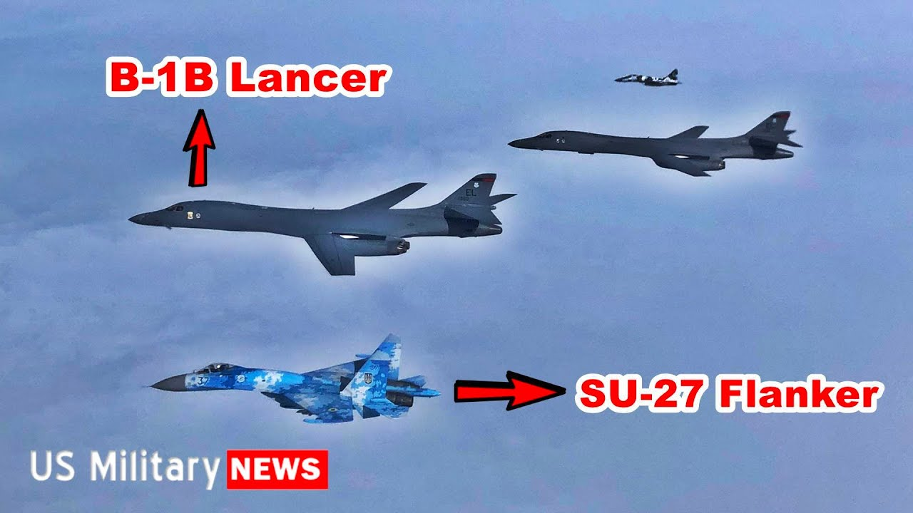 USAF Reveals B-1B Lancer Were Practicing Decapitating Russia's Black Sea Fleet