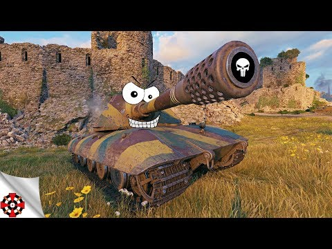World of Tanks - Funny Moments | MONSTER SHOTS! (WoT ammo rack, December 2018) thumbnail