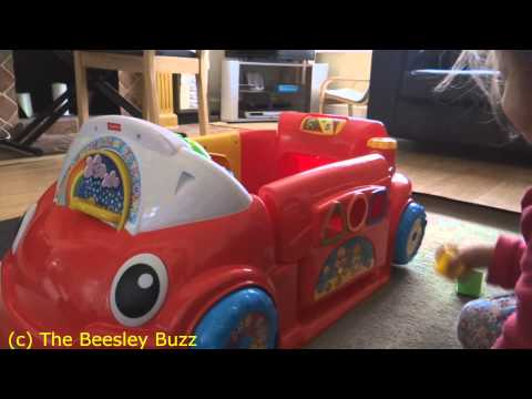 Babyologist Review: Fisher Price Crawl Around Car