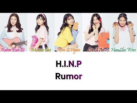 H.I.N.P (Produce 48) - Rumor Han/Rom/Eng Color Coded Lyrics