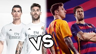barcelona vs real madrid rap de porta 2016