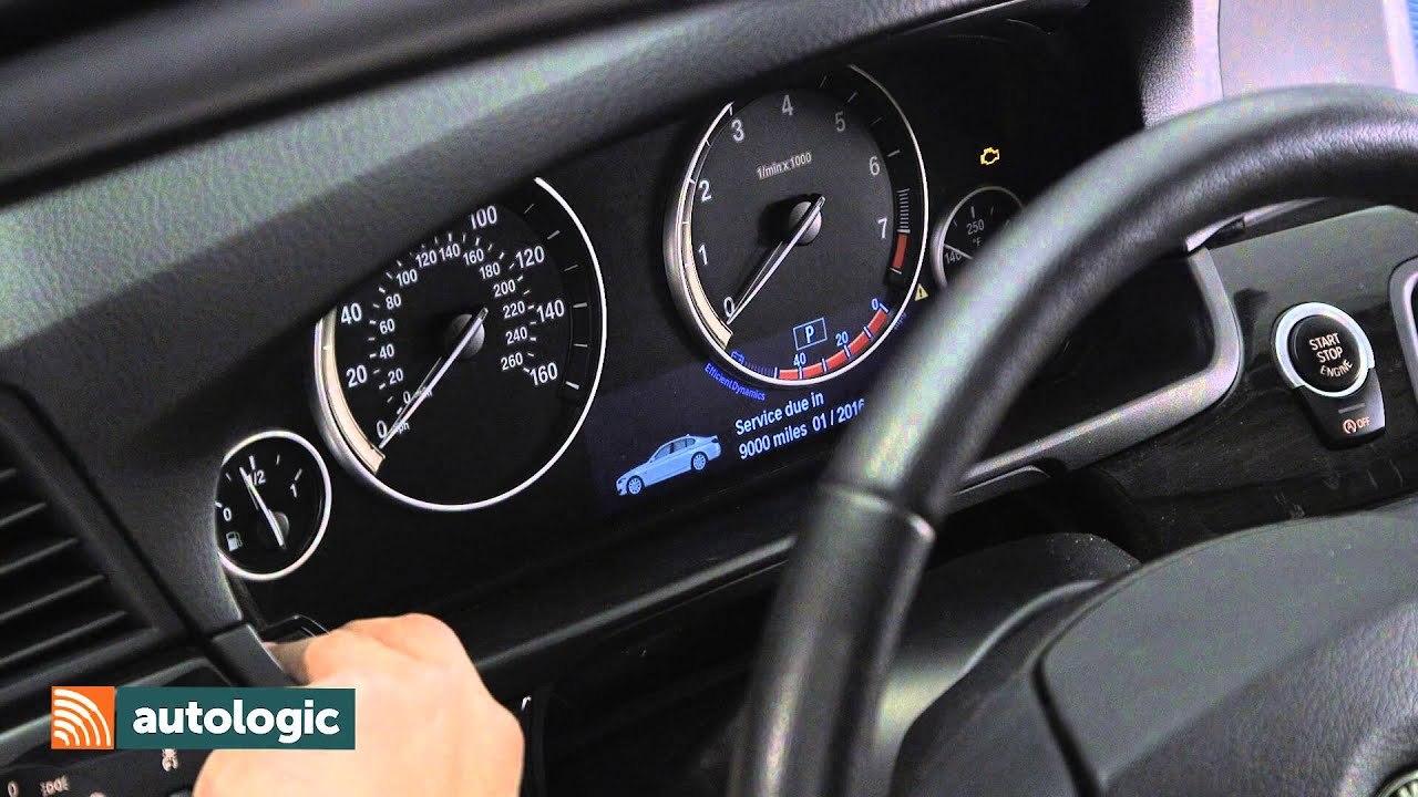 Bmw 5 Series F10 Viewing Fuel Level Data Through The