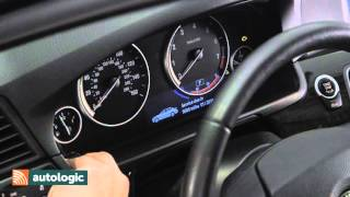 BMW 5 Series F10   Viewing Fuel Level Data Through the Instrument Cluster HD