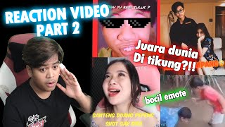 JUARA DUNIA DI TIKUNG SELEB TIKTOK??! | REACTION EDITOR BERKELAS PART 2