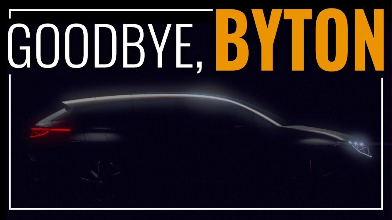 Goodbye, BYTON!