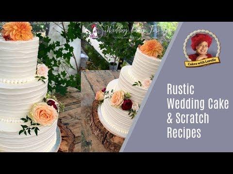 Textured Buttercream Cake  / Wedding Cake Batter Recipes From Scratch