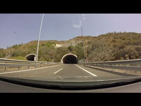 [Roadtrip #4 - Spain] A-7 - AP-7: Algeciras to Málaga West Exit