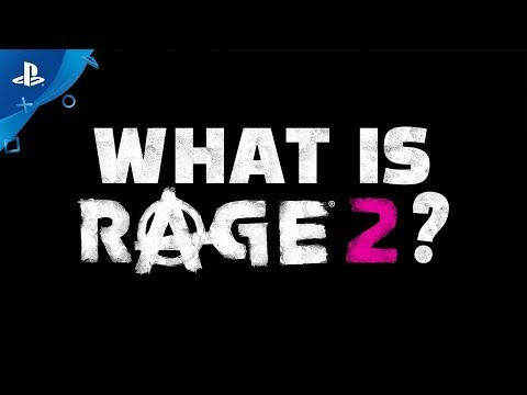 Rage 2   What is Rage 2 Official Trailer   PS4