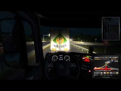 Euro Truck Simulator 2 DLC Vive La France Bordeaux - Brest