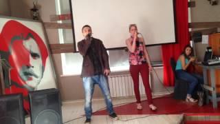МС НИКС (Андрей Шкалобердов) ft Алёна Алёхина - не забудь 22.06.2017 (Репетиция OrenMusic Fest)