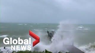 Hurricane Dorian hammers Bahamas with wind, rain and storm surge