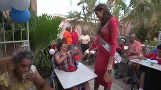 Miss Universe 2013 - Gabriela Isler travels to Curacao