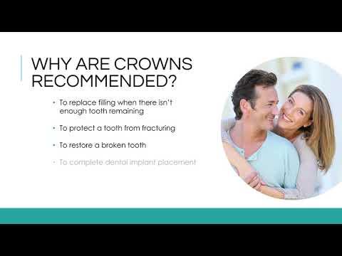 Porcelain Crowns - Dr. Saba Rizvi, DMD, My Dentist for Life in Plantation, FL