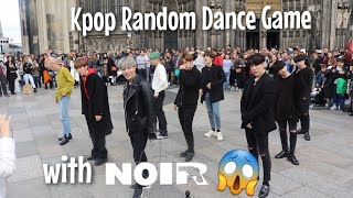 Kpop Random Dance Game with NOIR in Cologne, Germany | 22.10.2019