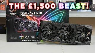 ASUS ROG RTX 2080 Ti Strix OC Video - the £1500 GPU!