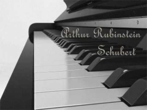 Arthur Rubinstein - Schubert Impromptu, Op. 90, No. 3 , in G flat major
