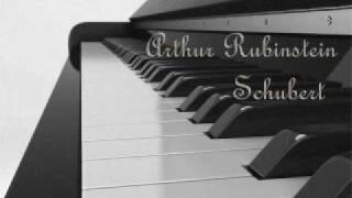 Arthur Rubinstein - Schubert Impromptu, Op. 90, No. 3 , in G flat major