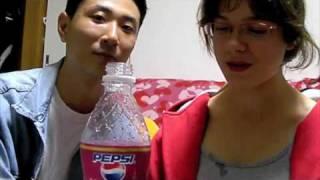 Azuki Pepsi and Kit-Kat taste test