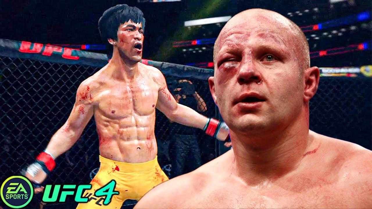 UFC 4   Bruce Lee VS Fedor Emelianenko    EA SPORTS UFC 4