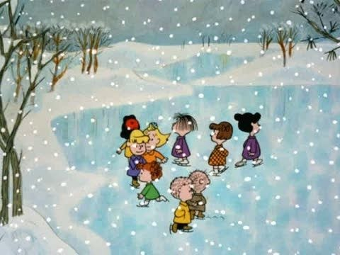 a charlie brown christmas opening - Peanuts Christmas Special