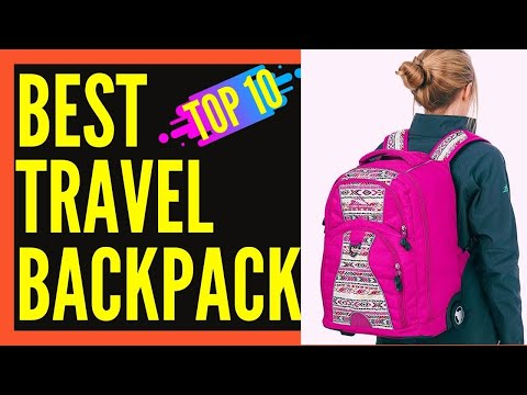 Best Backpack For Travel Carry On (Women and Men) || Best Travel Backpack 2017