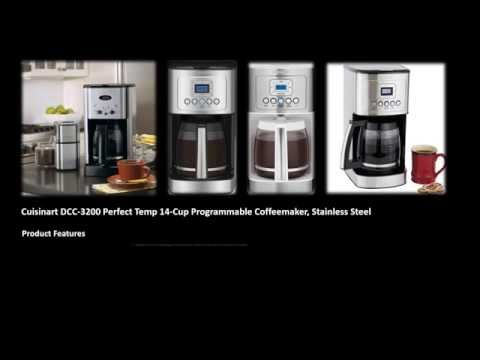 Easy use Coffeemaker Cuisinart (DCC-3200)