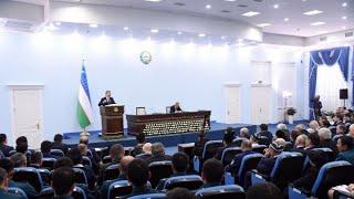 O'zbekiston Prezidenti Toshkentning Yunusobod tumanida bo'ldi (26.10.2018y.,