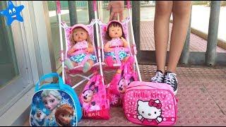 ¡Vuelta al cole! Estrenan mochila y bolsa de aseo Frozen y Hello Kitty Ani y Ona NENUCO thumbnail