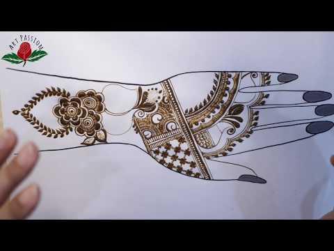 practice 8: Practice and learn latest style mehendi design  :hindi