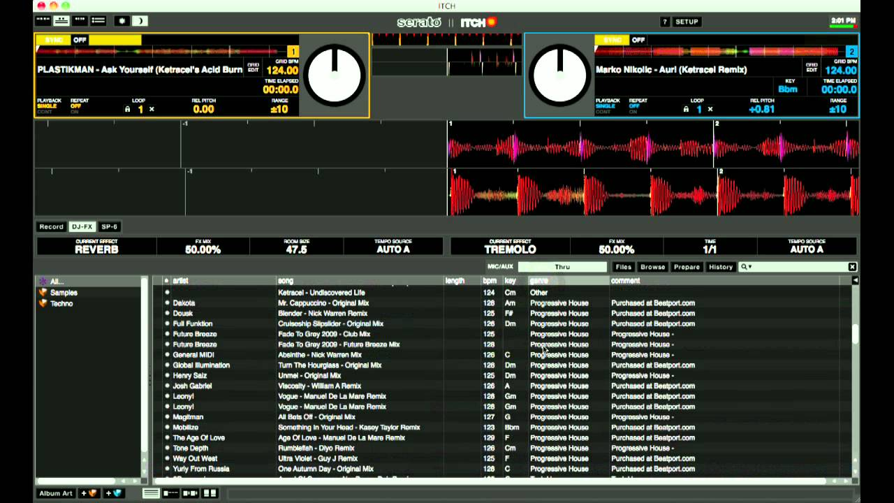serato itch firmware update