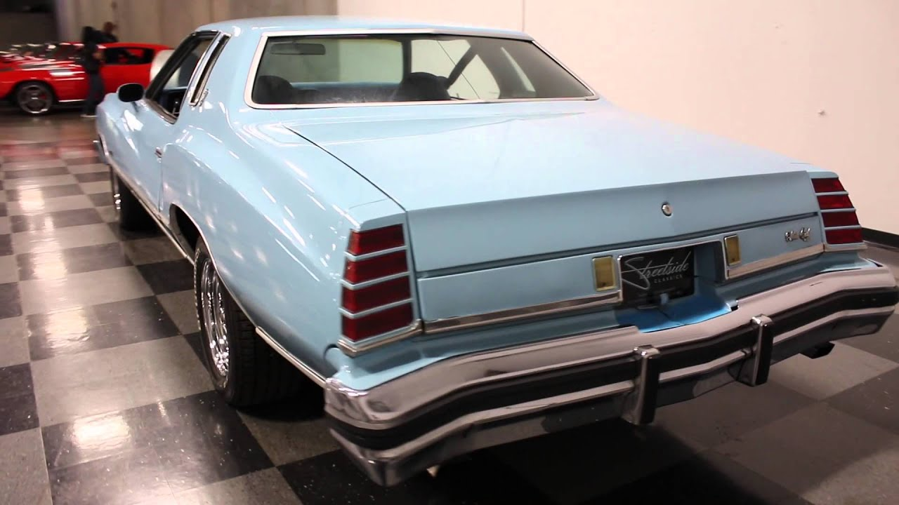2015 Chevy Monte Carlo >> 2519 ATL 1975 Chevy Monte Carlo - YouTube