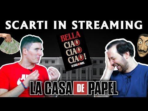 SCARTI IN STREAMING #10: La Casa Di Carta (stagione 1, 2 E 3½)