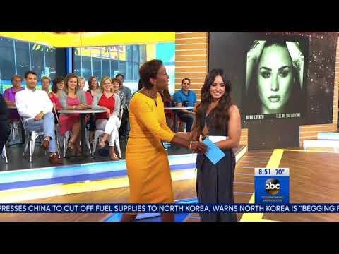 Demi Lovato on Good Morning America - September 5