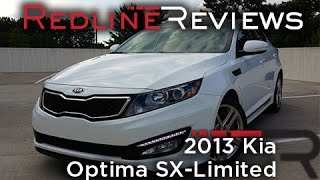 2013 Kia Optima SX-Limited – Redline: Review
