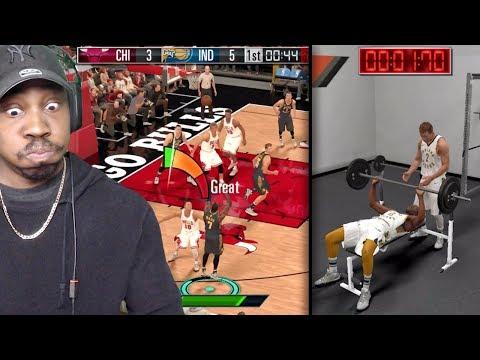 NBA 2K MOBILE GAMEPLAY! BENCH PRESS DRILL, SEASON MODE, MY TEAM PACK OPENING, JORDAN & MORE! Ep. 1
