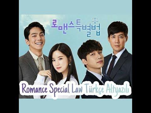 [Türkçe Altyazılı] Romance Special Law 1. Bölüm