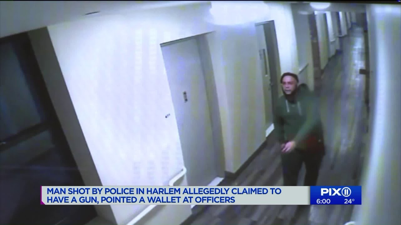 Man shot by police in Harlem pointed a wallet at officers
